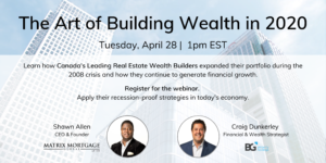 The Art of Building Wealth in 2020