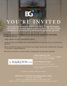 Hazelton Event Feb 5, 2020